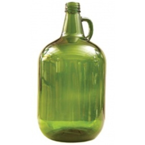 Glass Jug - 1 gal. (Green) - Case of 4
