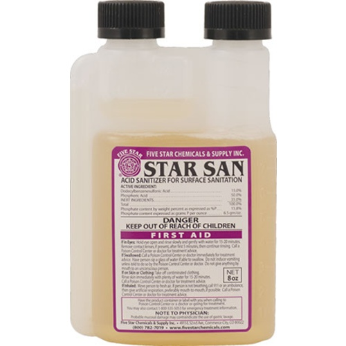 Star San Sanitizer - 8 oz.