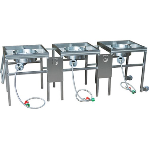 BrewBuilt® AfterBurner™ - 3 Burner Propane Brewing Stand