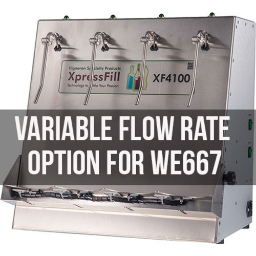 Xpress Fill Level Filler - 4 Spout Variable Flow Rate Option