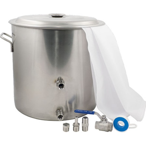 MoreBeer! Brew in a Bag Stainless Steel Brewing Kettle Kit