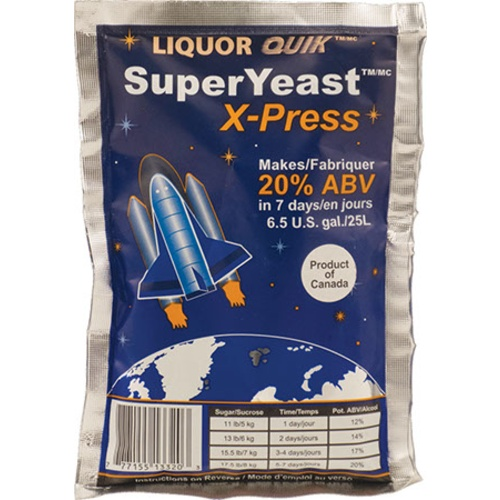 Liquor Quik Super Distilling Yeast X-Press - 135 g