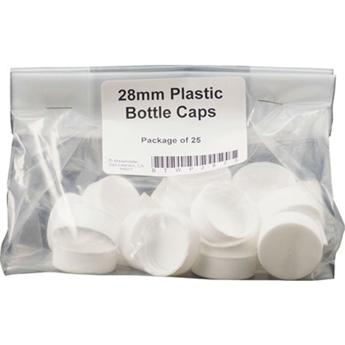 Plastic Screw Cap - 28 mm