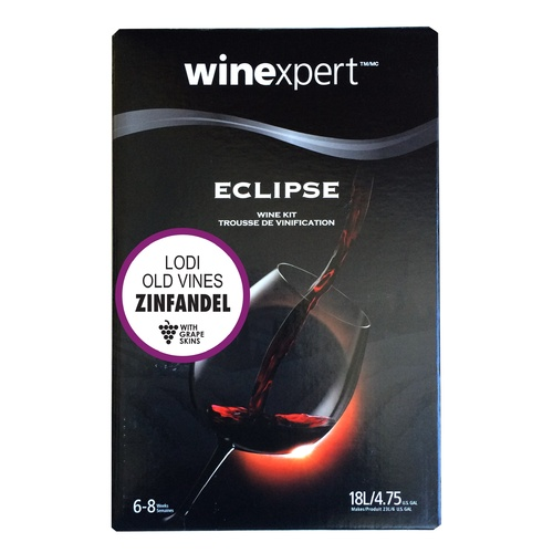 Eclipse Wine Making Kit - Lodi Old Vine Zinfandel