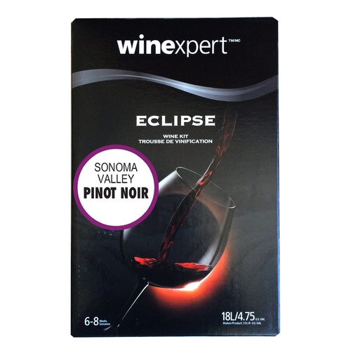 Eclipse Wine Making Kit - Sonoma Valley Pinot Noir