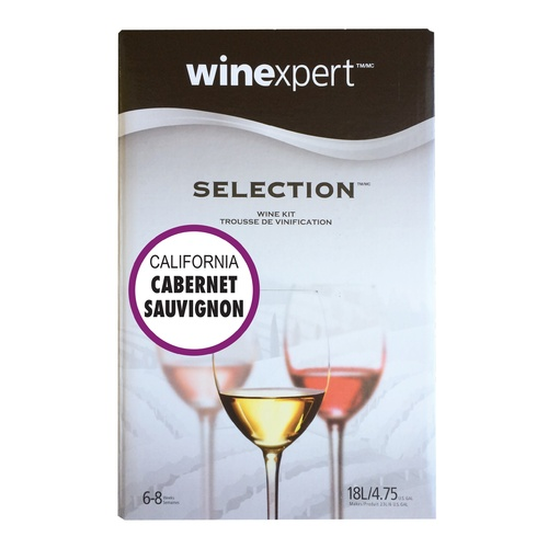 Winexpert Selection California Cabernet Sauvignon Wine Recipe Kit