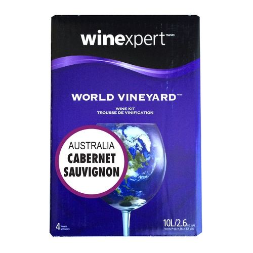 Winexpert World Vineyard Australian Cabernet Sauvignon Wine Recipe Kit