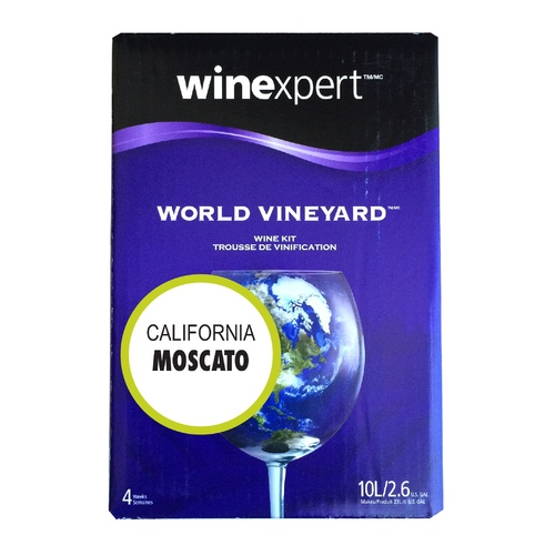 Winexpert World Vineyard California Moscato Wine Kit