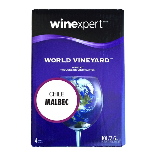 Winexpert World Vineyard Chilean Malbec Wine Recipe Kit
