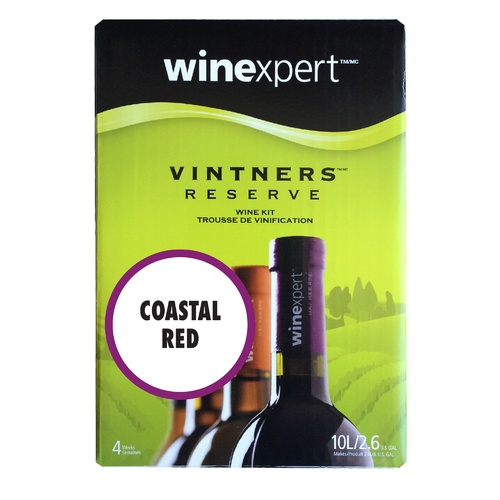 Winexpert Vintner's Reserve Coastal Red Wine Recipe Kit