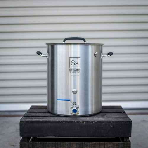 Ss BrewTech Stainless Steel 10 Gallon Brew Kettle