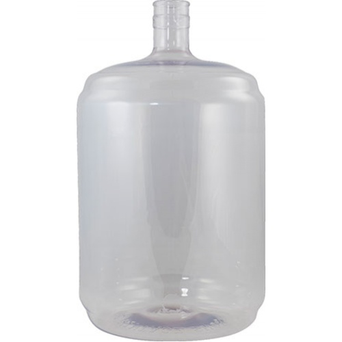 Plastic PET Carboy - 6 Gallon Ported (Spigot Not Included)
