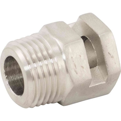 Ss BrewTech Whirlpool Fitting - 1/2 in. MPT