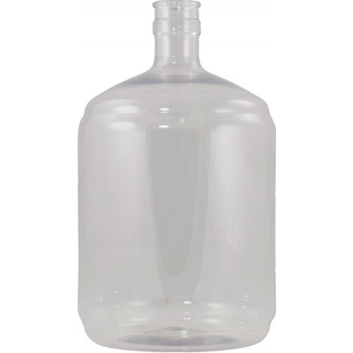 Plastic PET Carboy - 6 Gallon Ported with Spigot