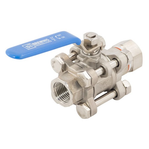 Ball Valve for Ss BrewTech Brewing Kettles - 1/2 in.