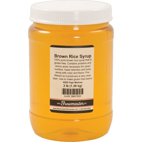 Brown Rice Syrup - 3 lbs.