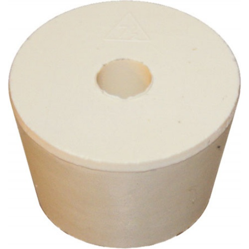 Rubber Stopper - #7.5 With Hole