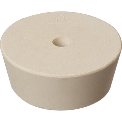 Rubber Stopper - #12 With Hole