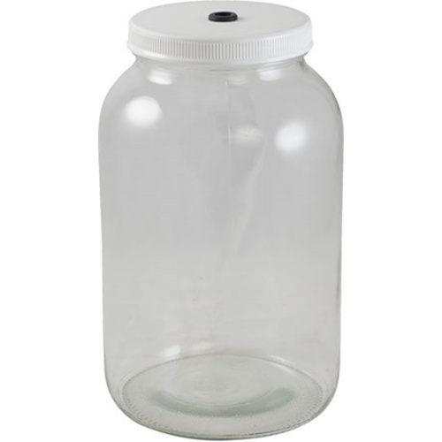 Glass Fermentation Jar - 1 gal. (Kit)