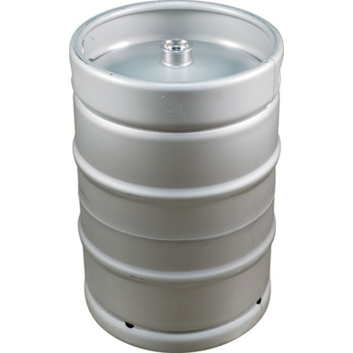 Stainless Steel US Sanke Keg - 15.5 gal.