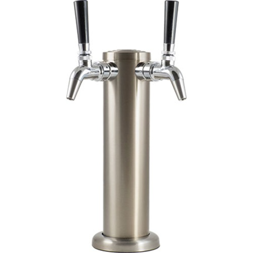 Stainless Draft Tower With Intertap Faucet