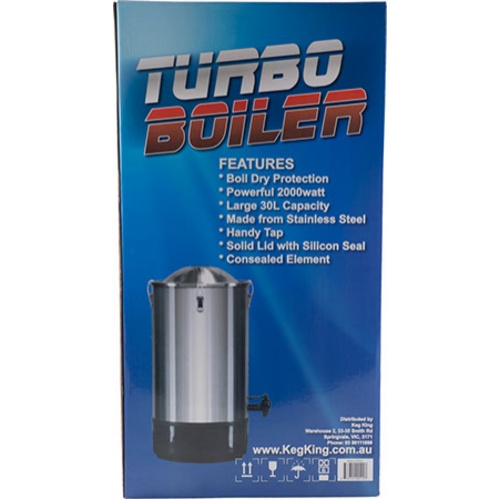 Turbo Boiler Electric Kettle - 1000 Watt