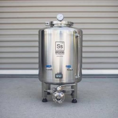 Ss BrewTech Brite Tank with FTSs Chilling Package - 10 gal.