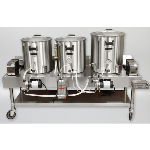 Blichmann Electric All Grain Brewing System Rims Morebeer