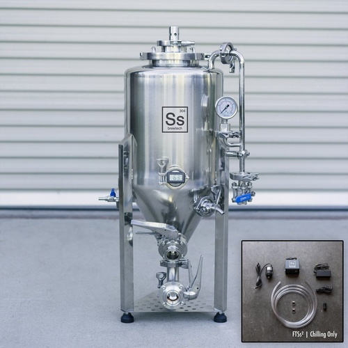 Ss Brewtech Unitank - 7 gal (With Chilling Package)