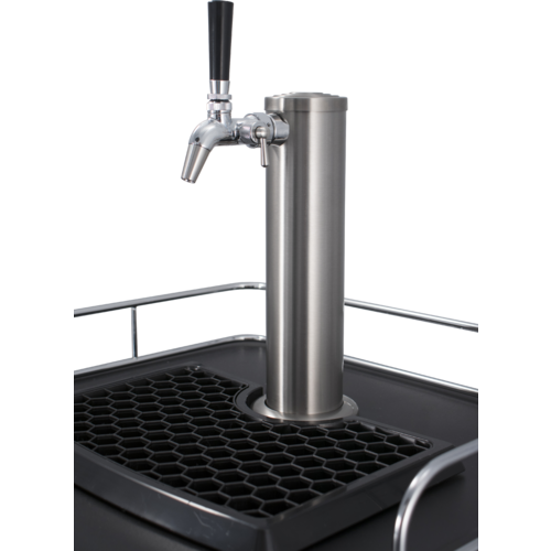 Kegerator With Flow Control Intertap Faucets