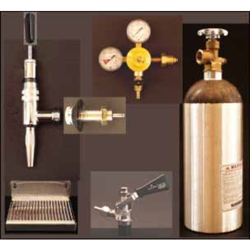 nitro kegerator conversion kit wchrome faucet