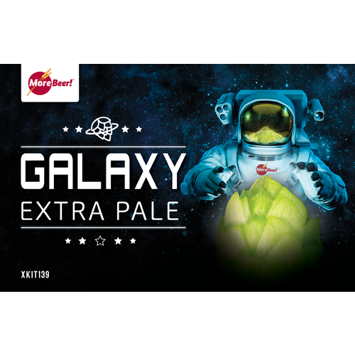 Galaxy Extra Pale - Extract Beer Brewing Kit (5 Gallons)