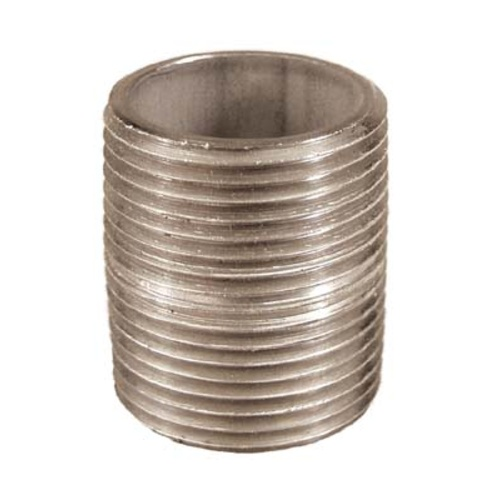 Stainless Nipple - 1 in. x 1 1/2 in.