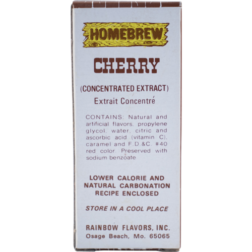 Rainbow Cherry Soda Extract - 2 fl oz.