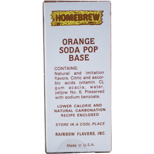 Rainbow Orange Soda Extract - 2 fl oz.