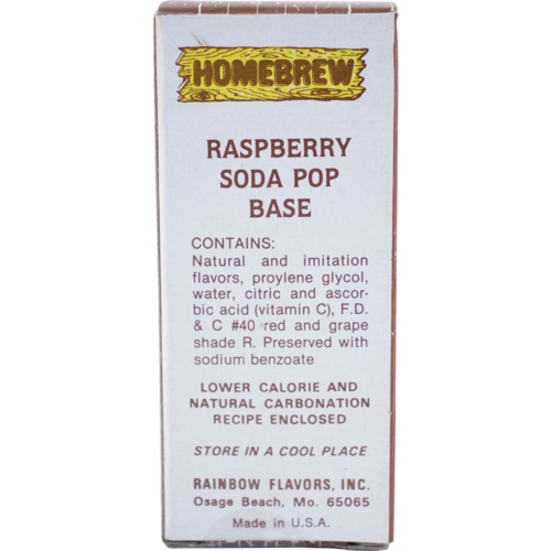 Rainbow Raspberry Soda Extract - 2 fl oz.