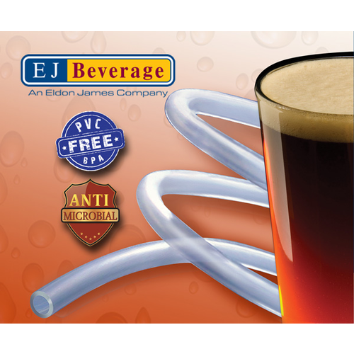 Ultra Barrier Silver™ Antimicrobial and PVC Free Beer Tubing - 1/2 in.