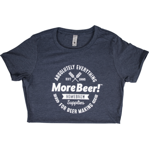 MoreBeer!® Absolutely Everything - Midnight Navy Women's T-Shirt