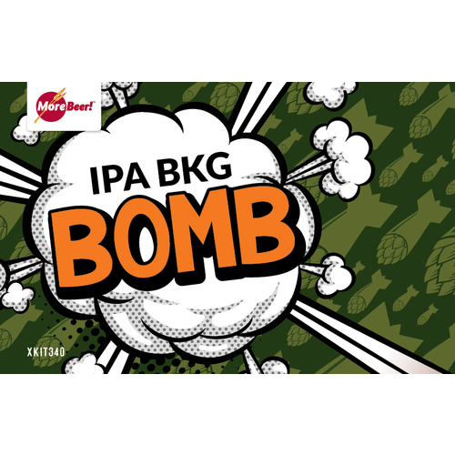 IPA II BKG Bomb - Extract Beer Brewing Kit (5 Gallons)