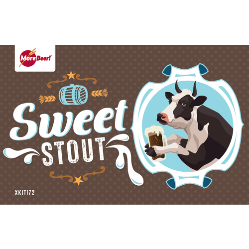 Sweet Stout - All Grain Beer Brewing Kit (5 Gallons)
