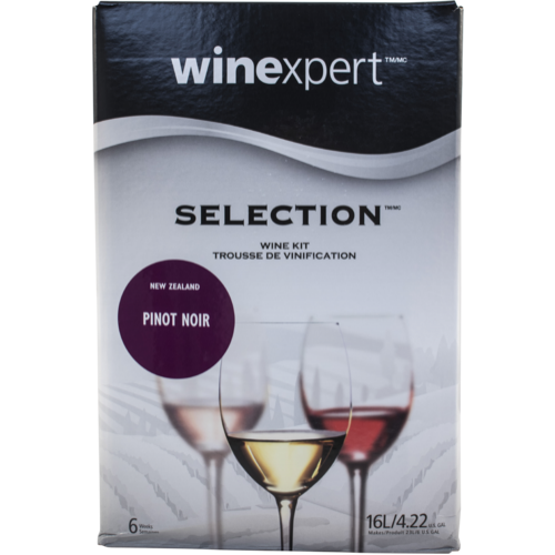 Winexpert Selection New Zealand Pinot Noir Wine Recipe Kit