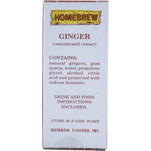 Rainbow Ginger Soda Extract - 2 fl oz.