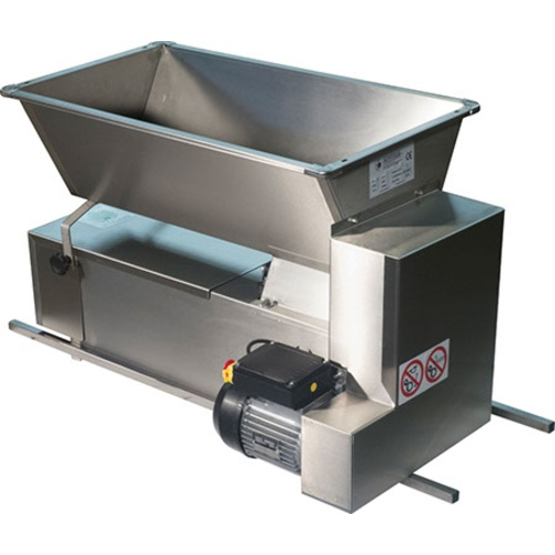 Italian Crusher Destemmer - Motorized, All Stainless