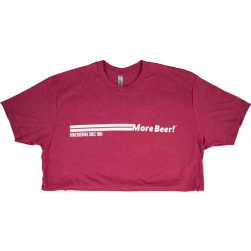 MoreBeer! - Red T-Shirt