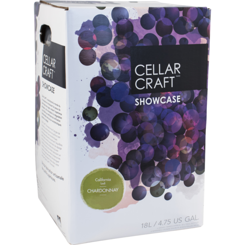 Wine Kit - Cellar Craft Showcase Collection - Lodi California Chardonnay