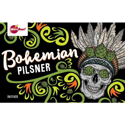 Bohemian Czech Pilsner - All Grain Beer Brewing Kit (5 Gallons)