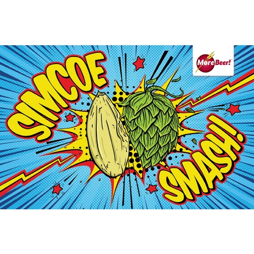 Simcoe® SMaSH IPA - Extract Beer Brewing Kit (5 Gallons)