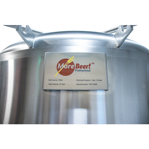MoreBeer! Pro Conical Fermenter - 60 bbl