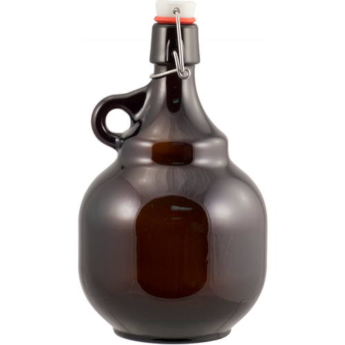 Amber Flip Top Palla Growler - 2 L