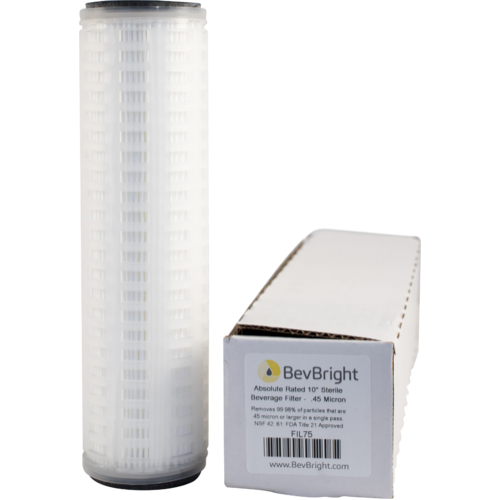 BevBright Beverage Filter - 0.45 Micron (Sterile)